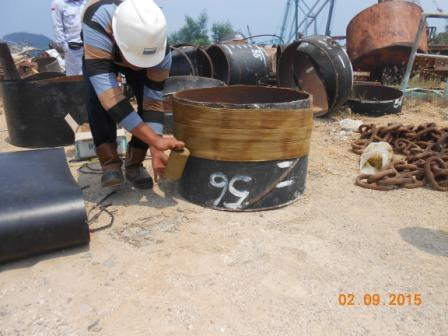 Installation Jacketing HDPE